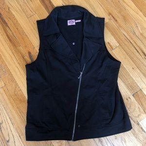Juicy Couture Moto Vest Size XL